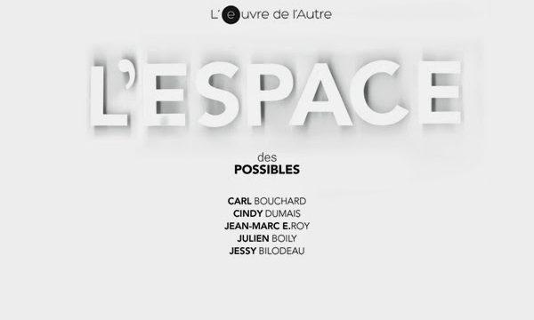 Parution publication L'espace des possibles